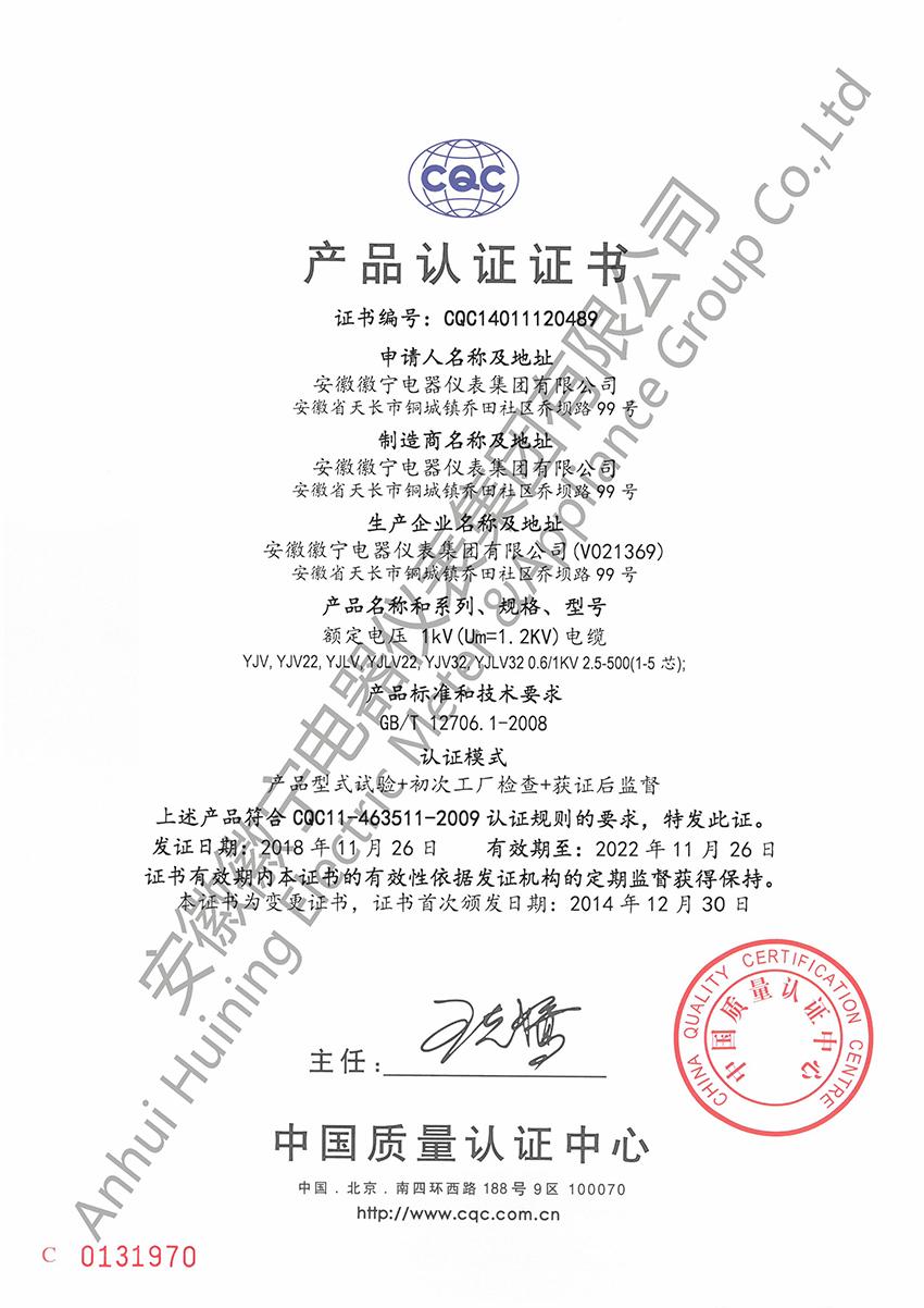 1KV-必威电竞(YJV-YJV22)